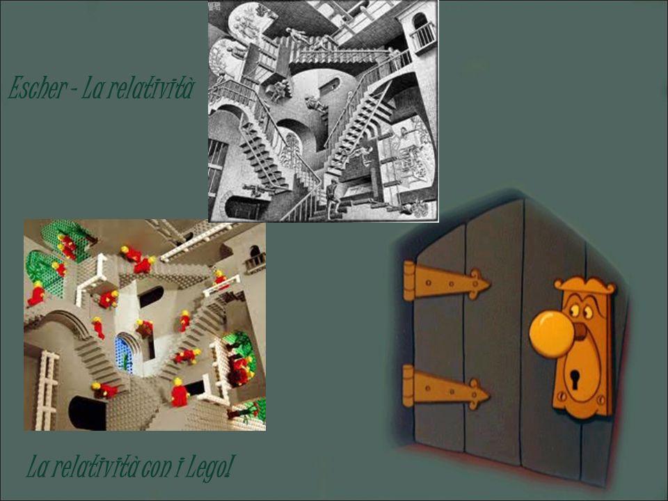 Escher – La relatività La relatività con i Lego!