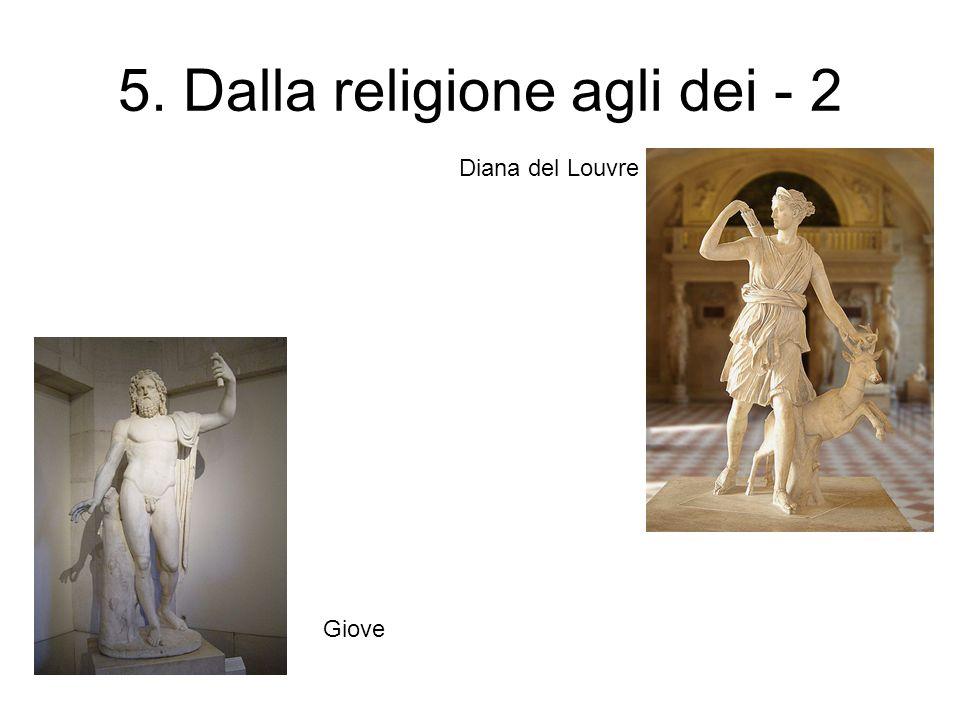 5. Dalla religione agli dei - 2 Diana del Louvre Giove