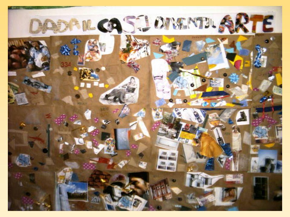 I bambini hanno la possibilità di realizzare collettivamente o individualmente dei collage
