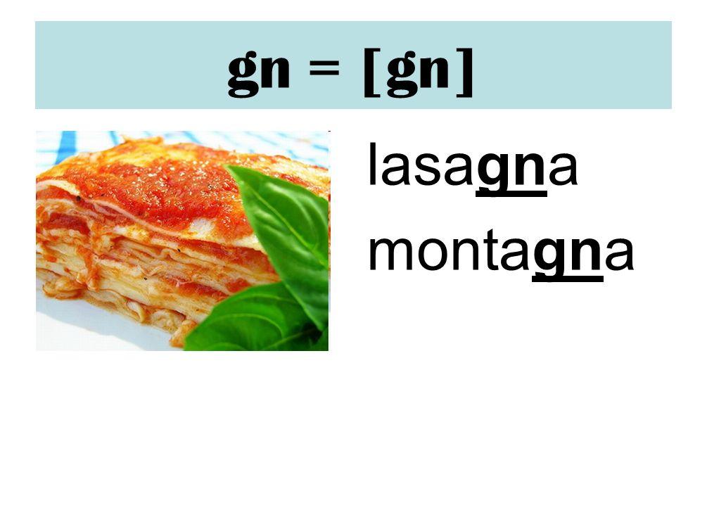gn = [gn] lasagna montagna