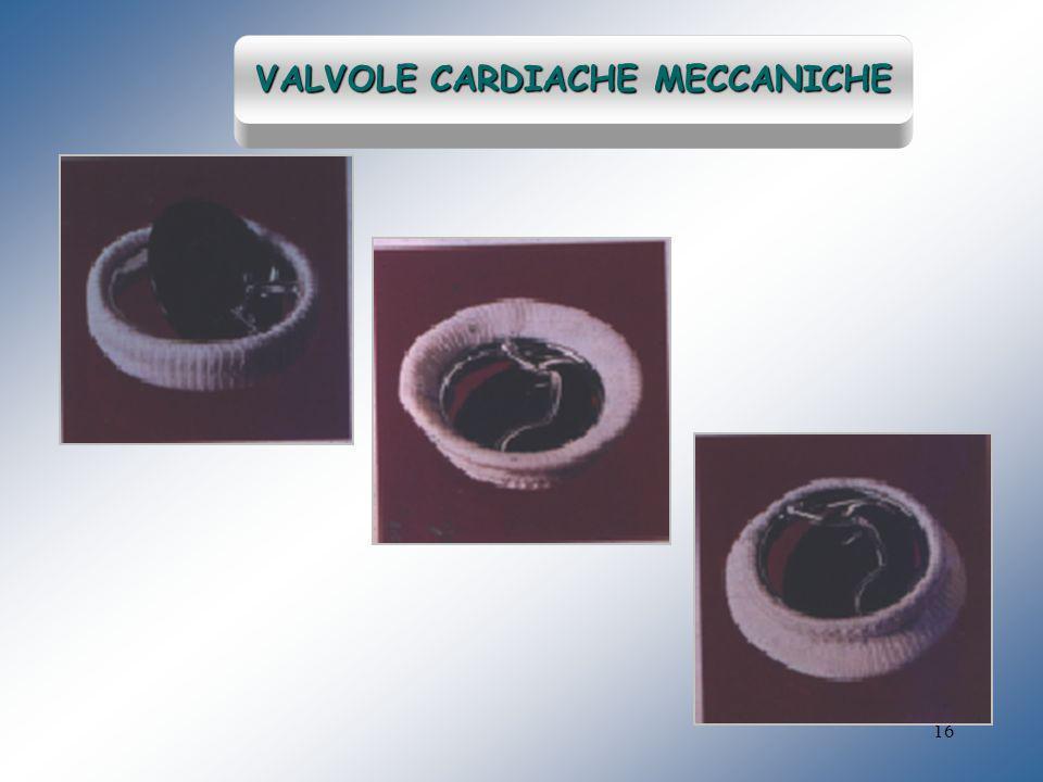 16 VALVOLE CARDIACHE MECCANICHE