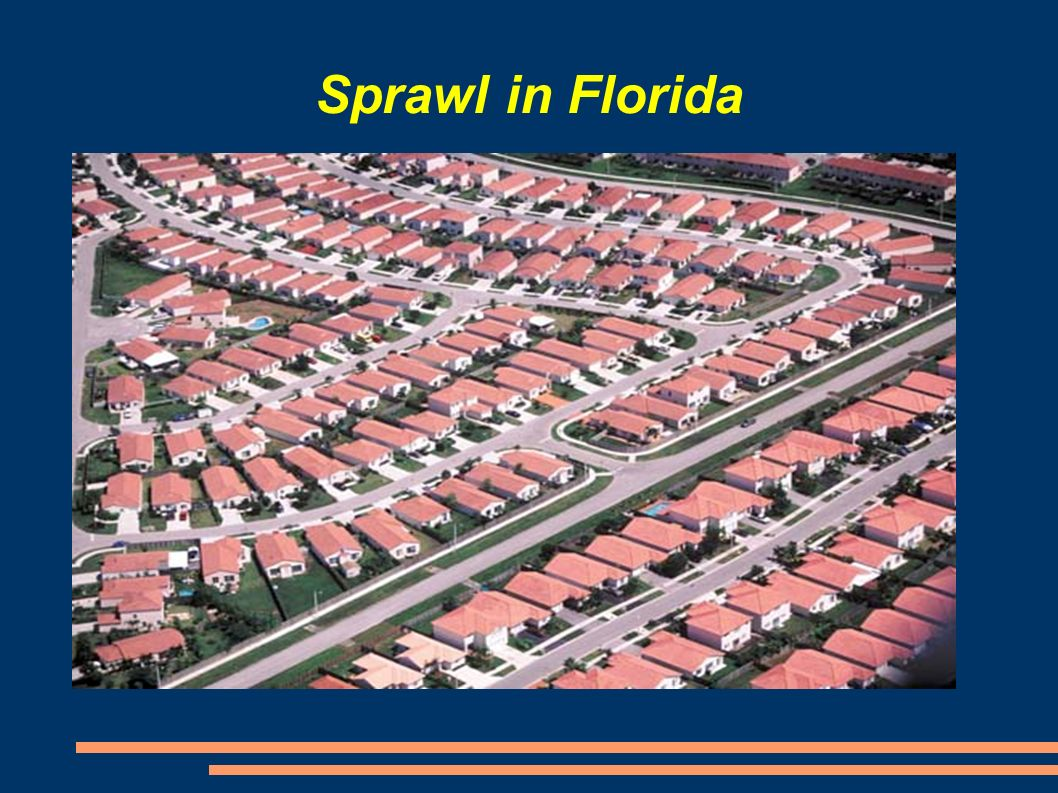 Sprawl in Florida