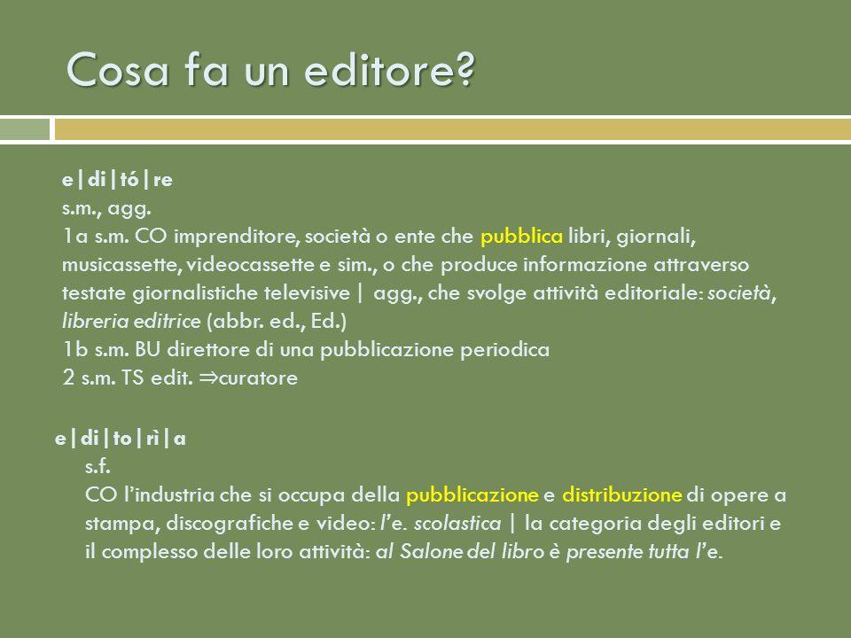 La pubblicazione: ricerca del testo Selezione IneditoEdito Collazione (autori) Scouting Commissione Collazione (editore) Fiere / Aste