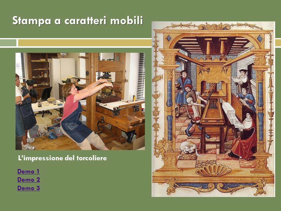Rilegature Funzione protettiva (chiusura con cerniere, catenati nelle biblioteche) Funzione di prestigio Prima dellinvenzione della stampa a caratteri mobili