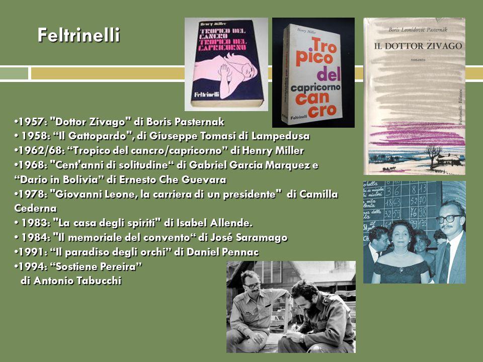 Feltrinelli 1957: