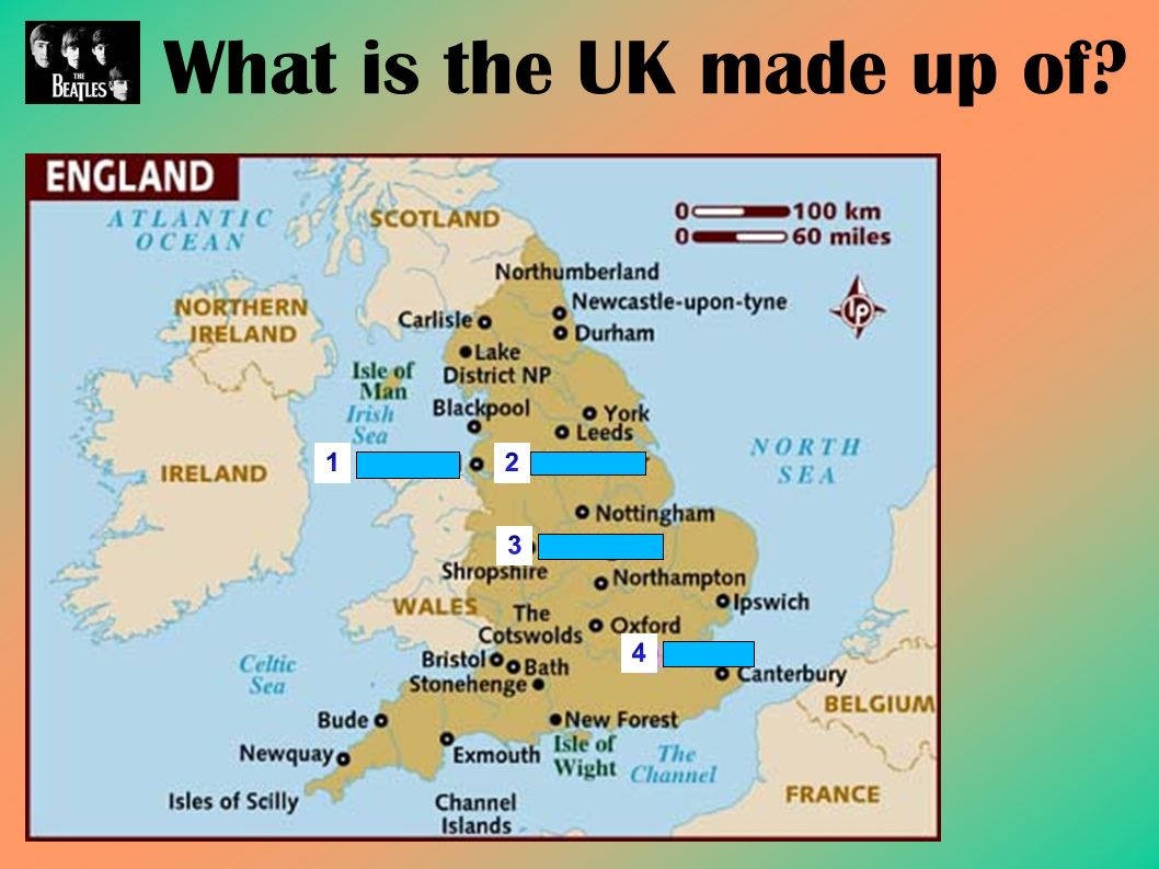 What is the UK made up of?