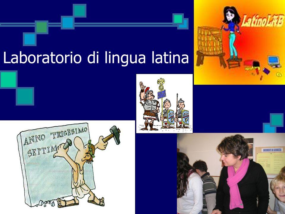 Laboratorio di lingua latina