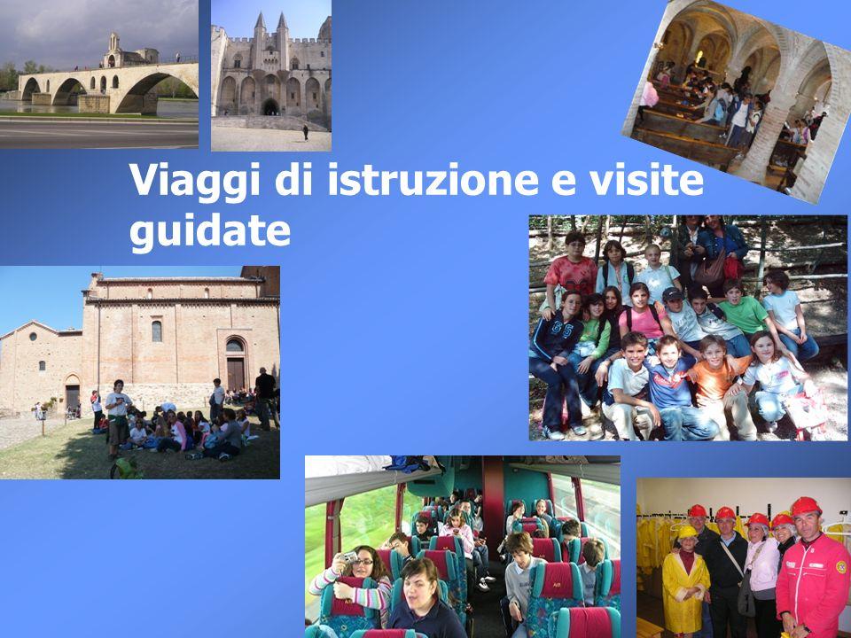 Viaggi di istruzione e visite guidate
