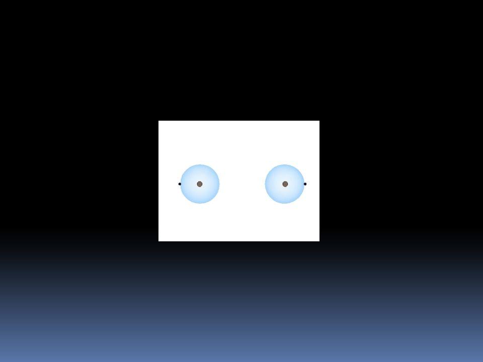I due atomi hanno elettronegatività diversa, ma non troppo: LEGAME COVALENTE-POLARE gli elettroni si localizzano in mezzo ai due atomi, ma un po spost