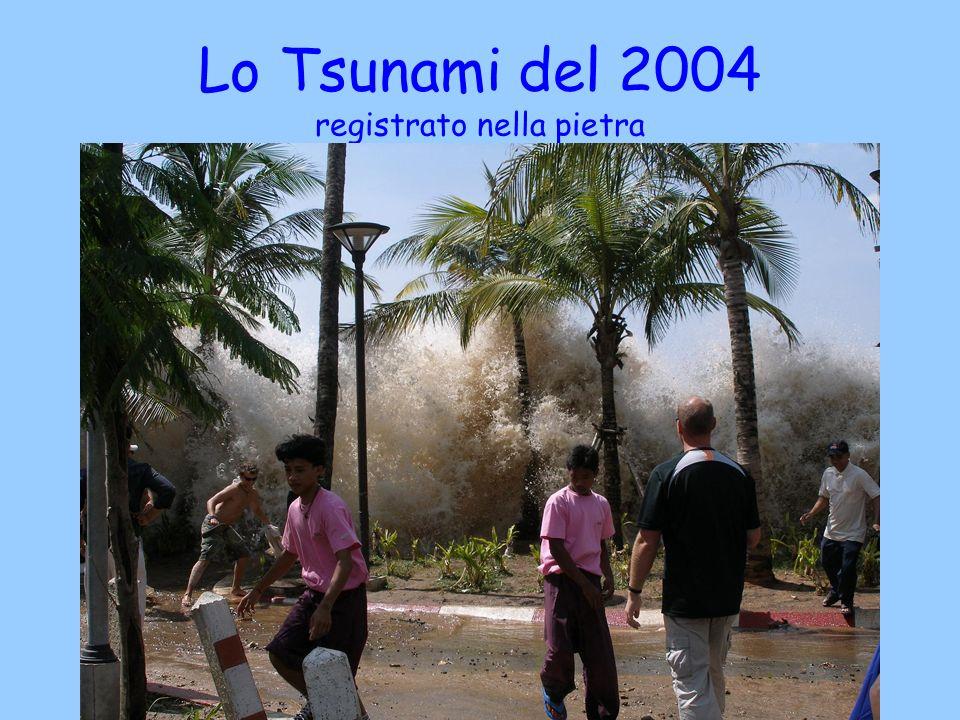 Lo Tsunami del 2004 registrato nella pietra