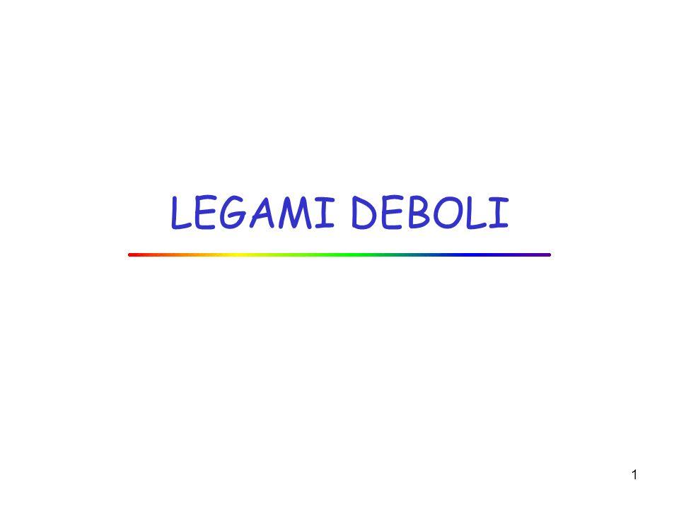 1 LEGAMI DEBOLI