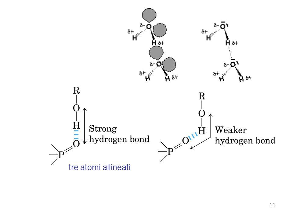 11 tre atomi allineati
