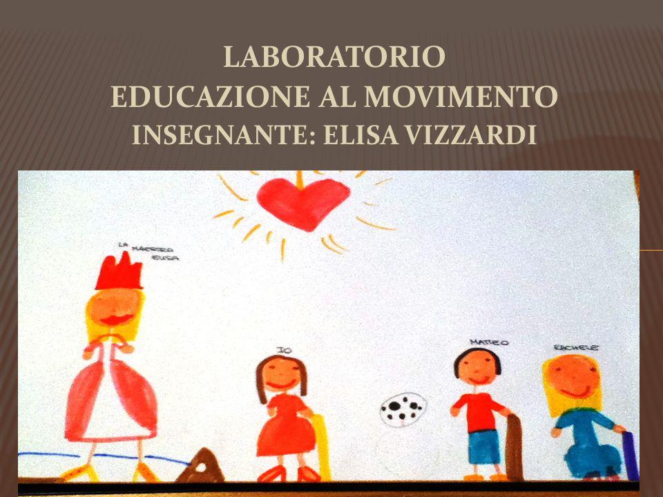 LABORATORIO EDUCAZIONE AL MOVIMENTO INSEGNANTE: ELISA VIZZARDI