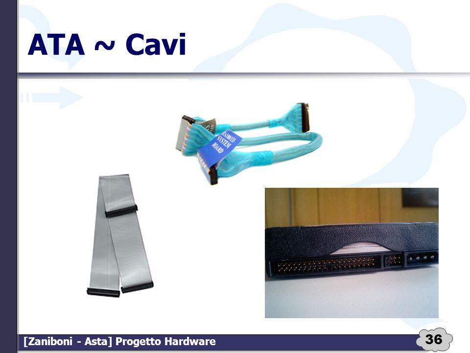 36 [Zaniboni - Asta] Progetto Hardware ATA ~ Cavi