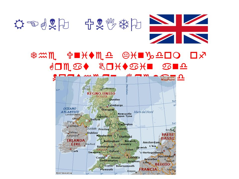 REGNO UNITO The United Kingdom of Great Britain and Northern Ireland