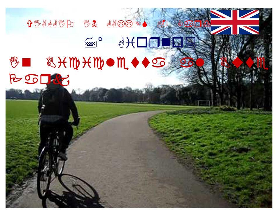 VIAGGIO IN GALLES - Cardiff 7° Giorno: In Bicicletta al Bute Park