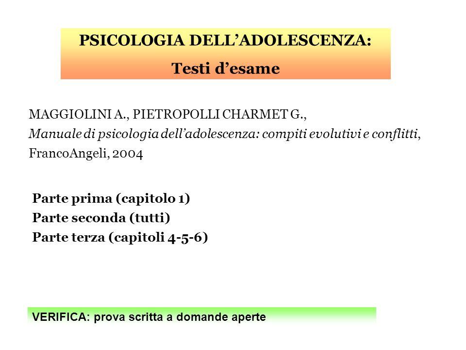 FABBRINI A., MELUCCI A., Letà delloro, Universale Economica Feltrinelli, 2000 Breve relazione (min.