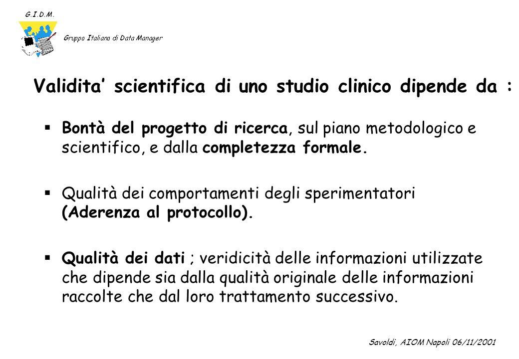 Linee Guida per la Buona Pratica Clinica (1) (CPMP/ICH/135/95) ; DM 15-7-97 GCP e uno standard internazionale di.