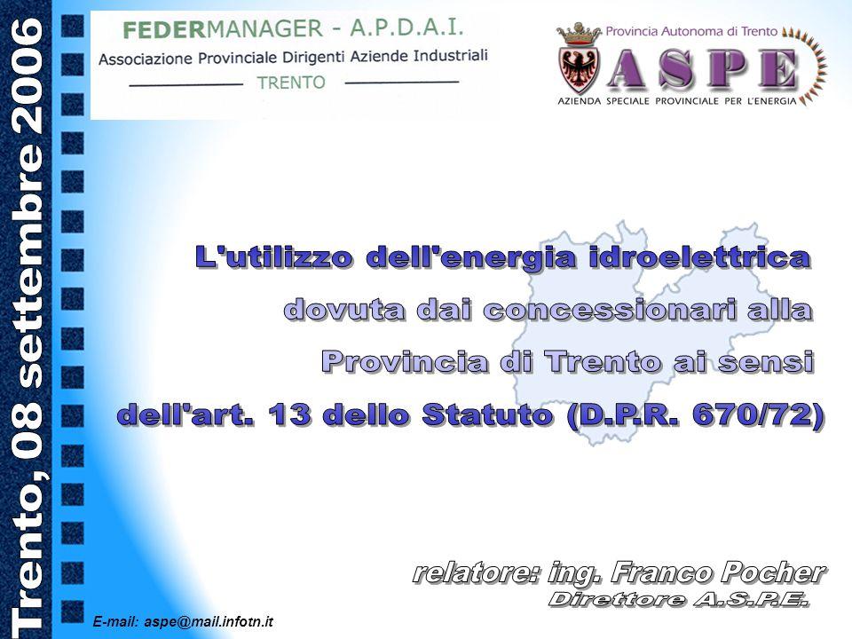 E-mail: aspe@mail.infotn.it A.S.P.E.
