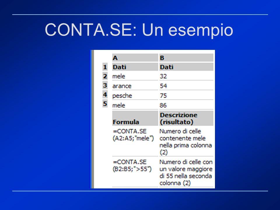CONTA.SE: Un esempio