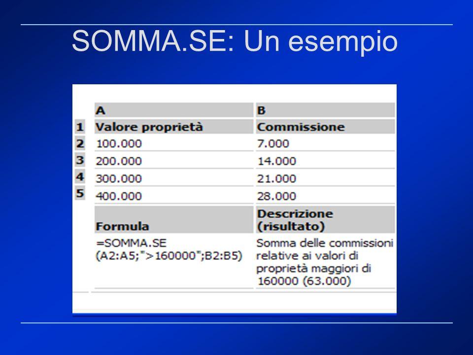 SOMMA.SE: Un esempio