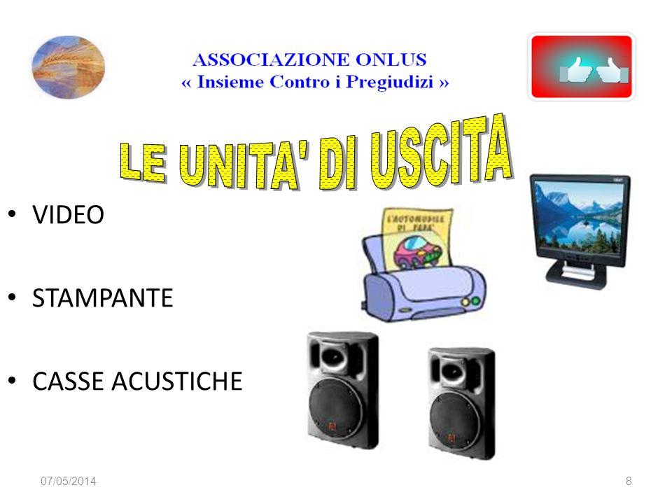 07/05/20148 VIDEO STAMPANTE CASSE ACUSTICHE