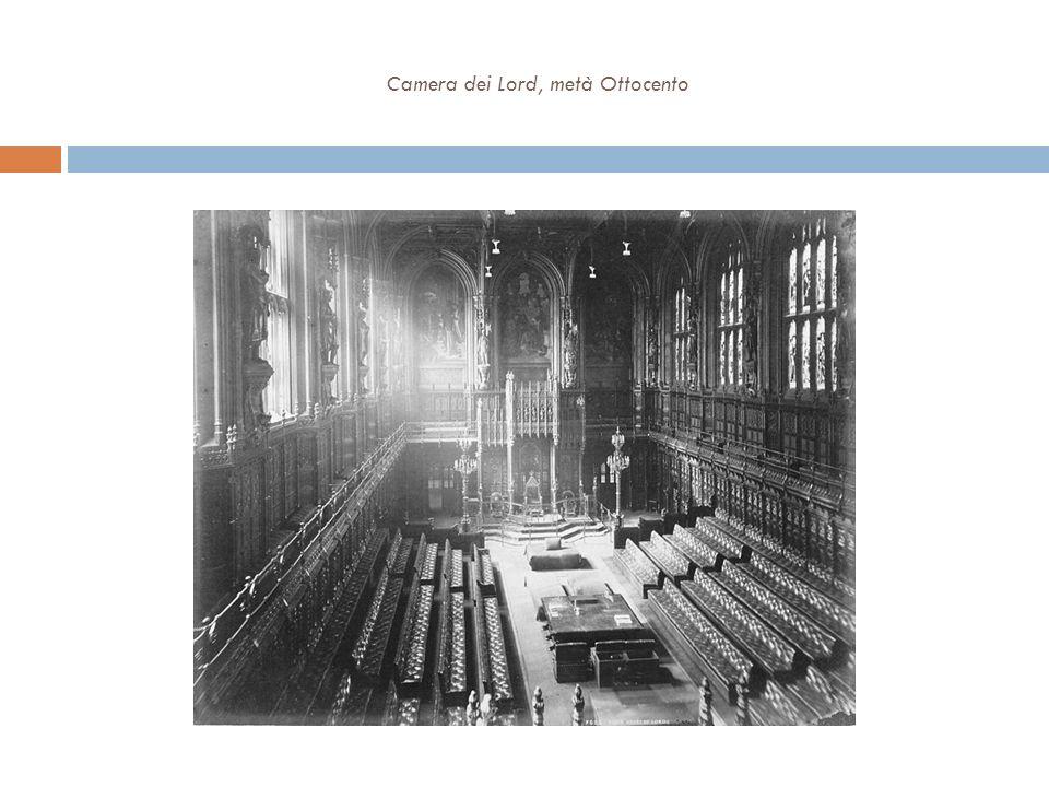 Camera dei Lord, metà Ottocento