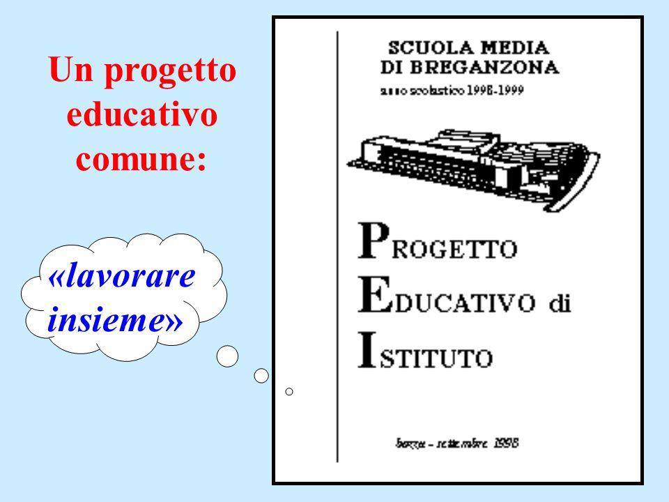 Un progetto educativo comune: «lavorare insieme»