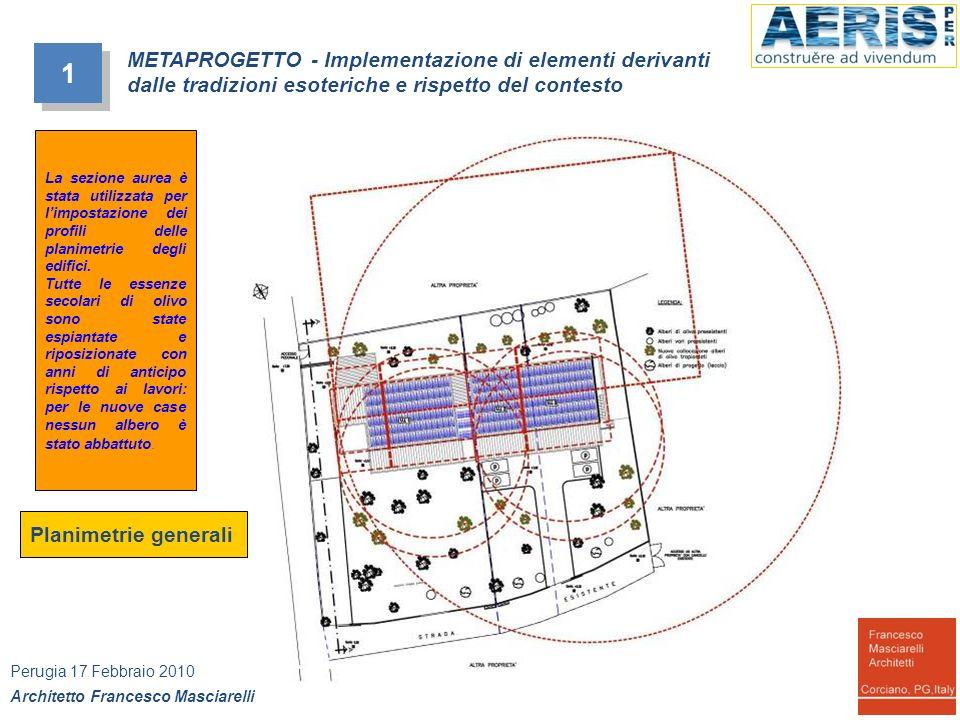 Planimetrie generali 1 1 METAPROGETTO - Implementazione di elementi derivanti dalle tradizioni esoteriche e rispetto del contesto Perugia 17 Febbraio