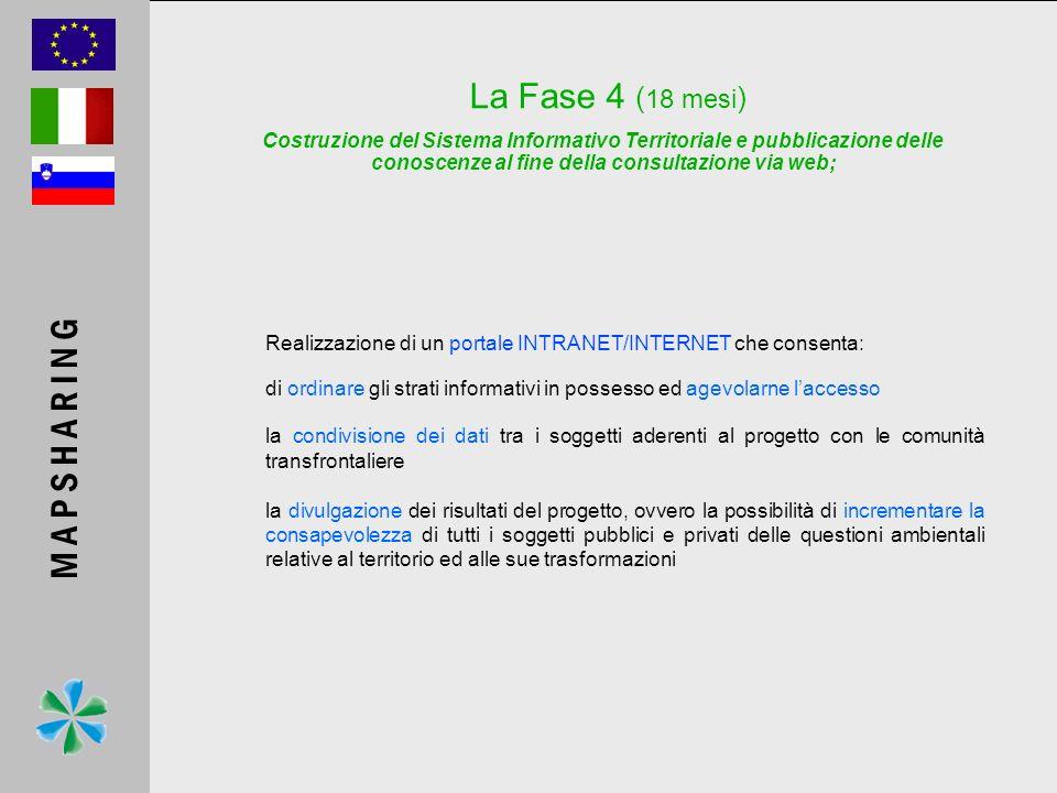 Realizzazione di un portale INTRANET/INTERNET che consenta: di ordinare gli strati informativi in possesso ed agevolarne laccesso la condivisione dei