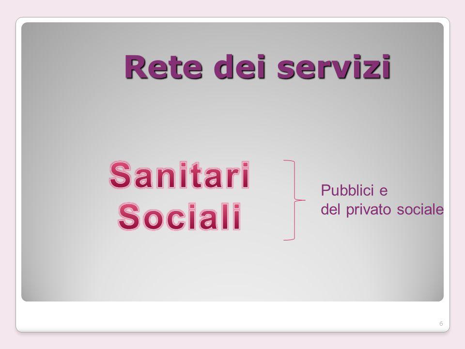 Rete dei servizi Pubblici e del privato sociale 6