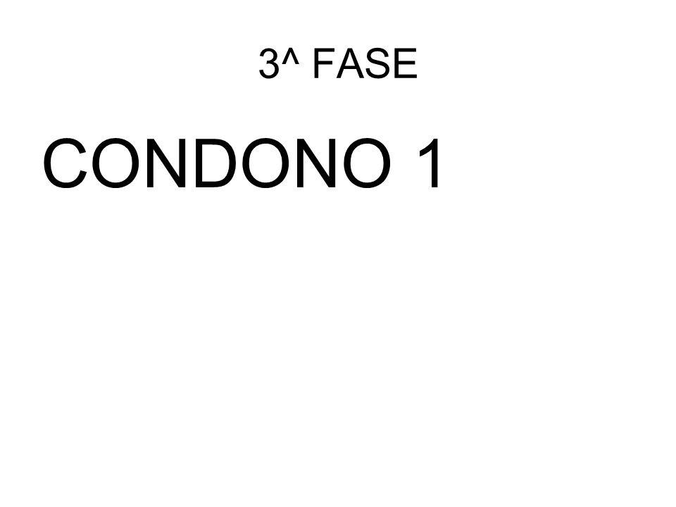 3^ FASE CONDONO 1