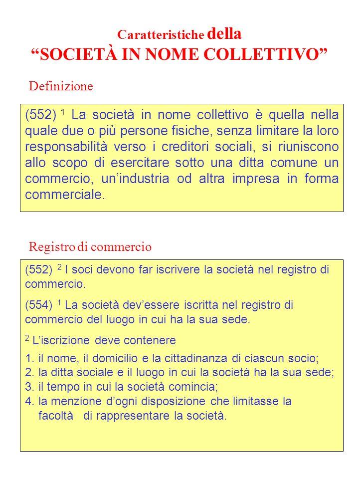 Caratteristiche della SOCIETÀ ANONIMA (950) 3.
