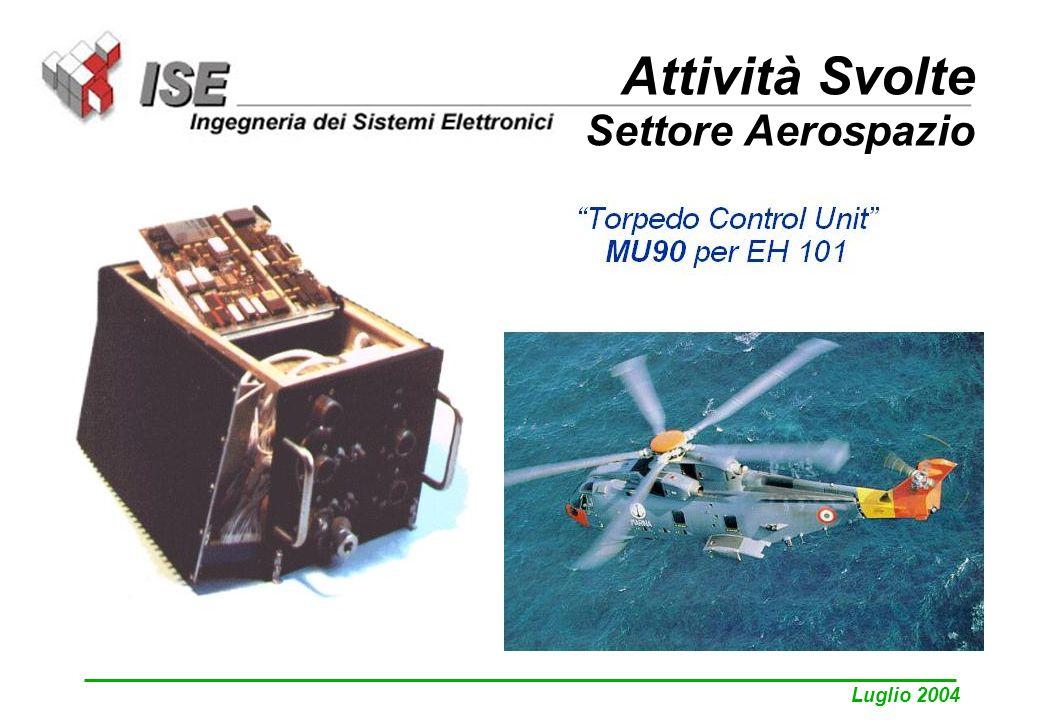 Luglio 2004 Attività Svolte Settore Aerospazio