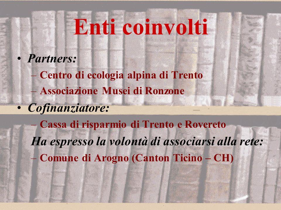 Contenuti Testimonianze in forma orale, audio-visuale e visuale, in particolare in Alta Val di Non, dai Musei di Ronzone.