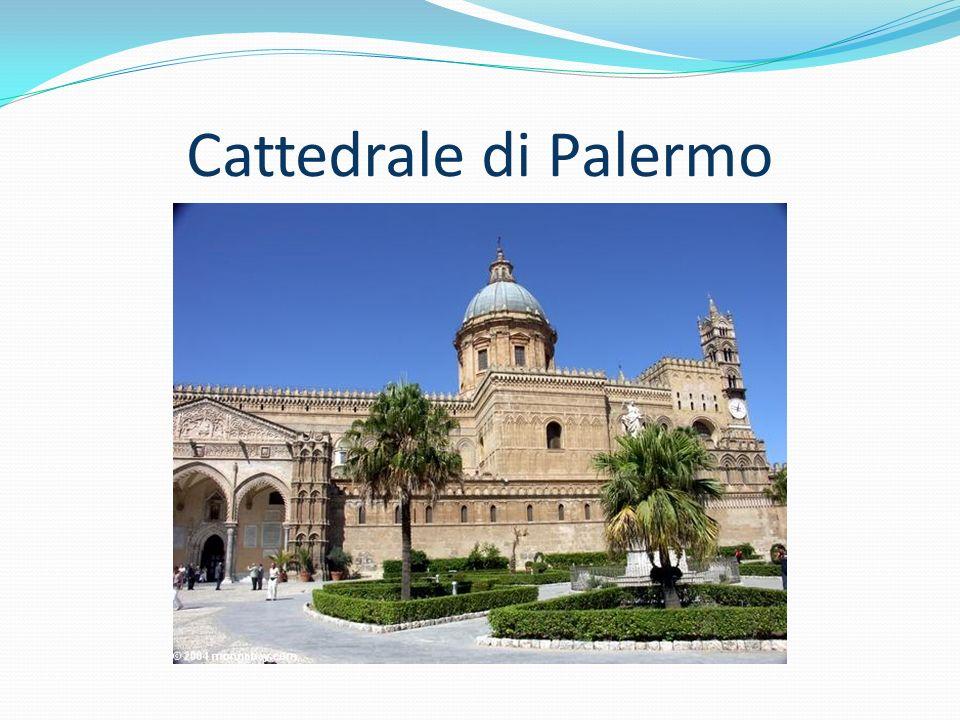 La cattedrale vista dai vicoli del capo e da corso vittorio emanuele