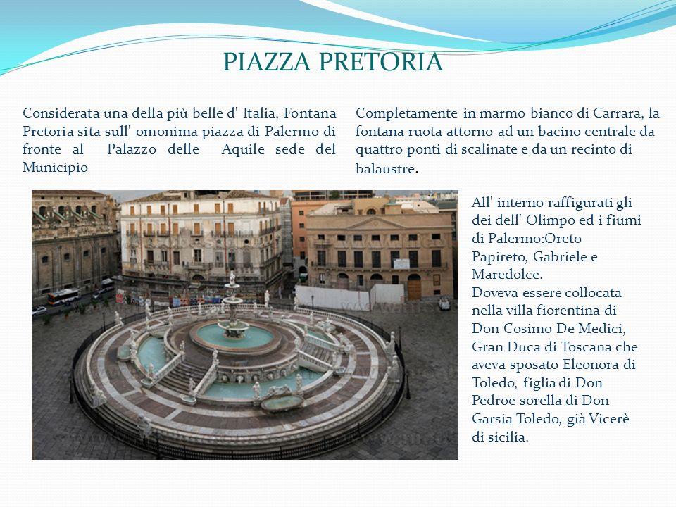 ...allombra di Monte Pellegrino si sono succedute tante culture che hanno arricchito il patrimonio di Palermo.