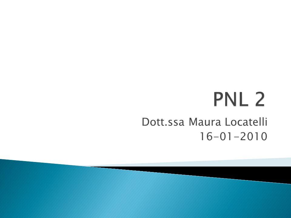 Dott.ssa Maura Locatelli 16-01-2010