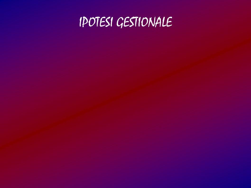 IPOTESI GESTIONALE