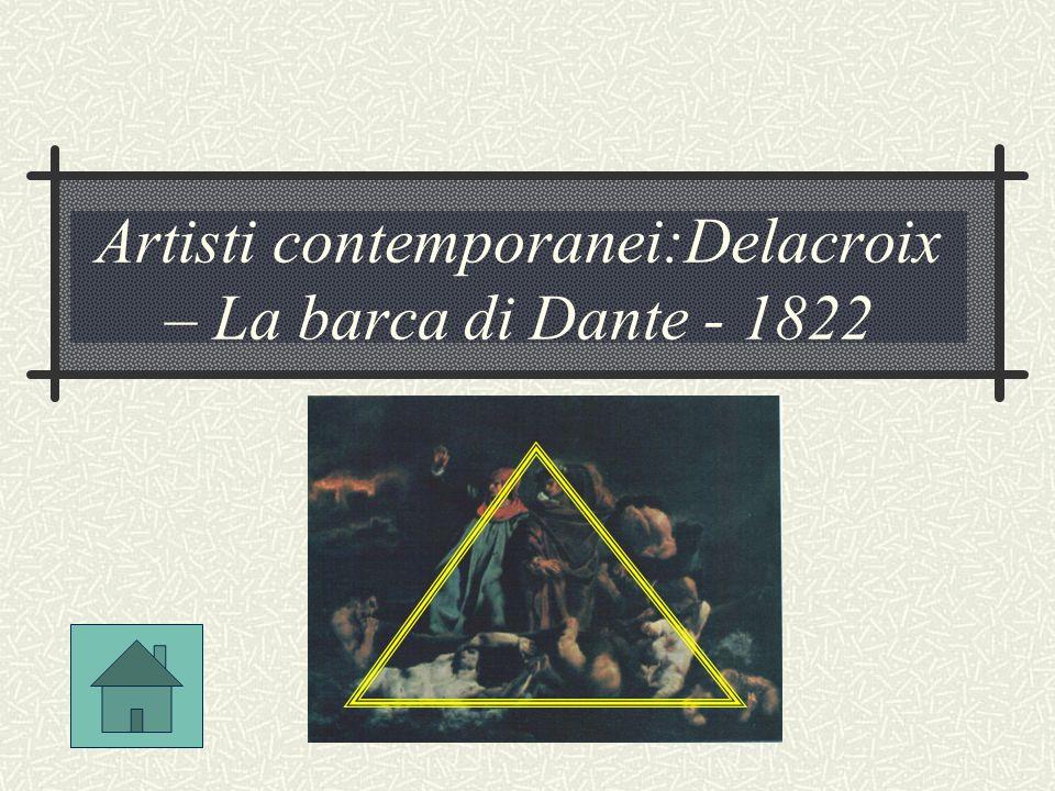 Artisti contemporanei:Delacroix – La barca di Dante - 1822