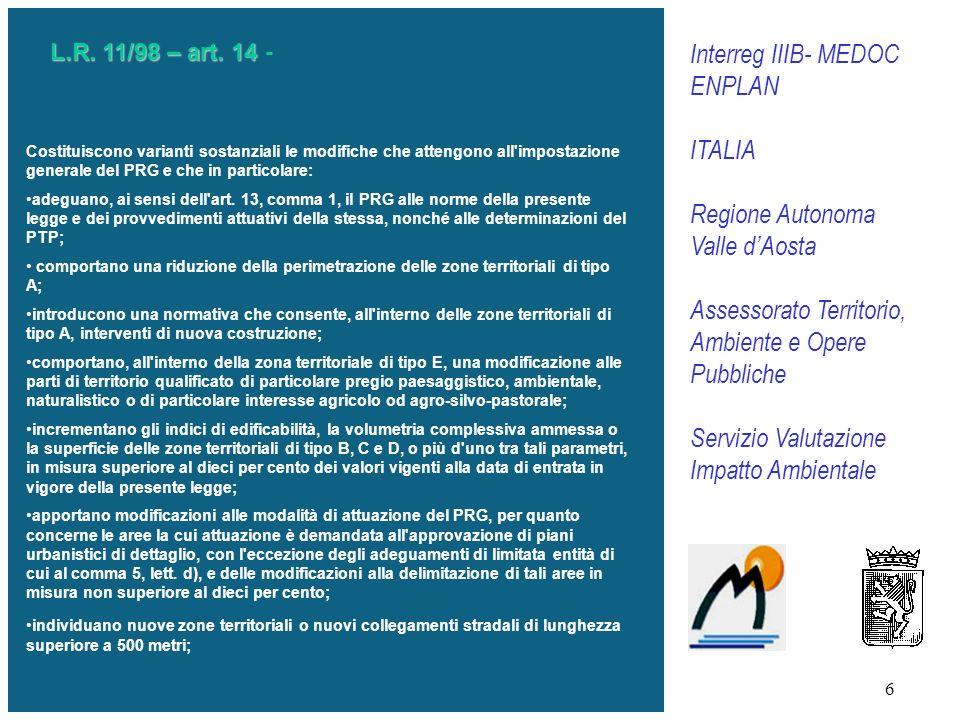 6 L.R.11/98 – art. 14 L.R. 11/98 – art.