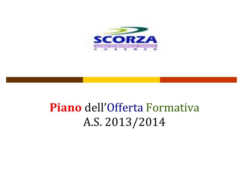 Piano dellOfferta Formativa A.S. 2013/2014