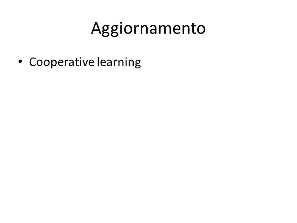 Aggiornamento Cooperative learning