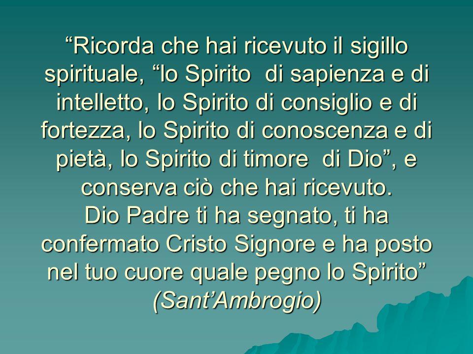 Ci radica più profondamente nella filiazione divina grazie alla quale diciamo. Abbà, Padre (Rm 8,15); Ci radica più profondamente nella filiazione div