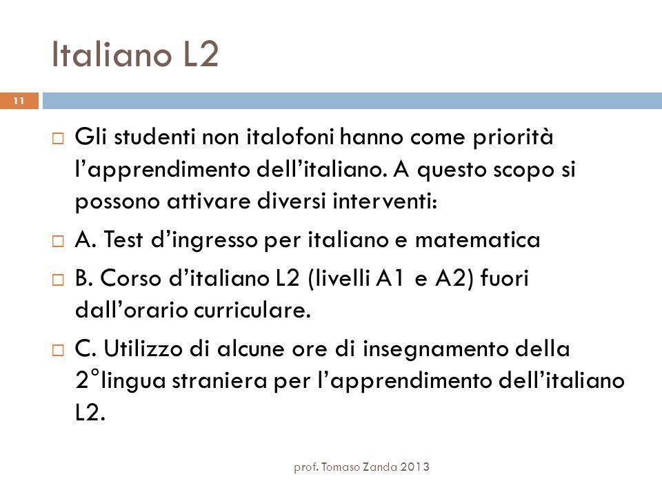 Italiano L2 prof.