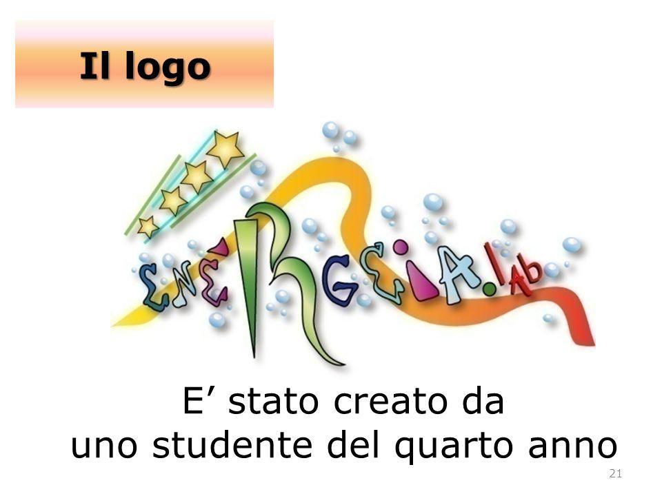 E stato creato da uno studente del quarto anno Il logo 21