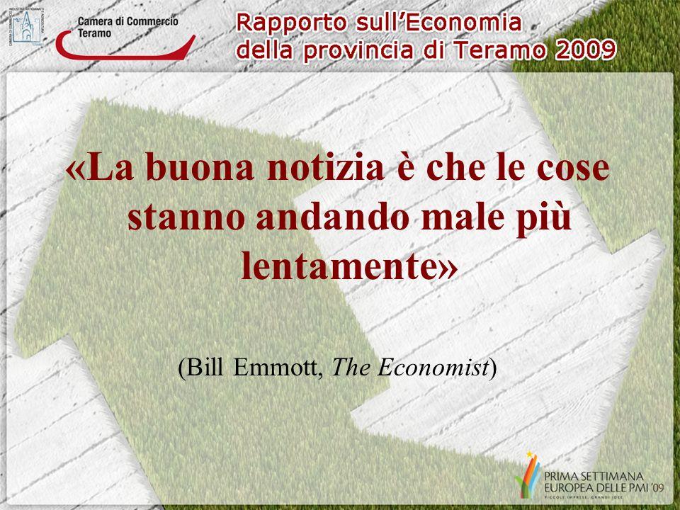 «La buona notizia è che le cose stanno andando male più lentamente» (Bill Emmott, The Economist)