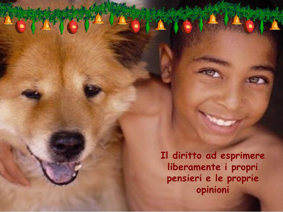 Il diritto ad esprimere liberamente i propri pensieri e le proprie opinioni