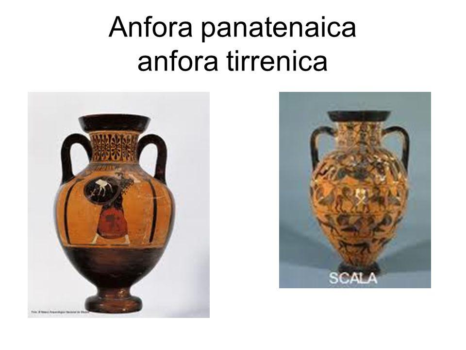 Anfora panatenaica anfora tirrenica