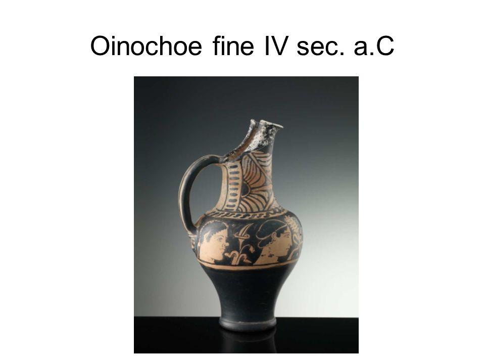Oinochoe fine IV sec. a.C